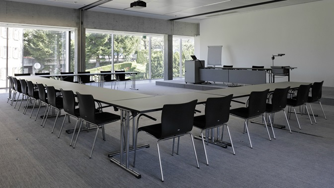 Room at the Executive Campus of the University of St.Gallen (HSG)